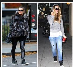 Ladies like Alessandra Ambrosio, Hilary Duff and Carmen Electra are opting for a sexy shoe that won't make them feel like they are walking on stilts.