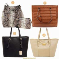 Cinco bolsas que toda mulher deve ter - Bolsas must-haves