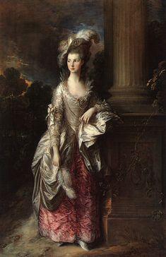 Thomas Gainsborough, The Honorable Mrs. Graham, 1775-77