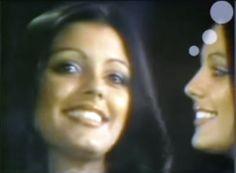 Close up de Miss Venezuela Judith Castiilo en su Desfile en Traje de Gala, en la Final del Miss Universe 1976 en Hong Kong..