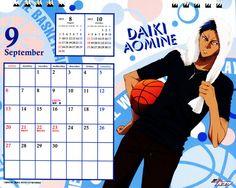 Kuroko no Baske: kuroko no basket 2015 Calendar - sep