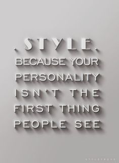 Style | Fashion Quotes