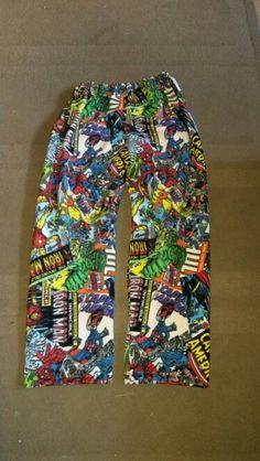 Marvel pyjama bottoms Www.facebook.com/handmadebylisaevans