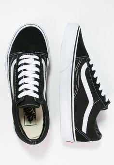 Chaussures Vans OLD SKOOL - Chaussures de skate - black noir: 75,00 € chez Zalando (au 04/10/16). Livraison et retours gratuits et service client gratuit au 0800 915 207.