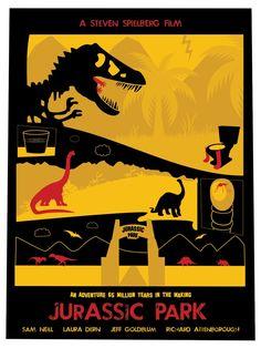 """Jurassic Park"" | Designer: Dave Williams"