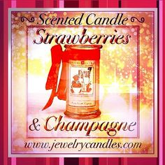 Strawberries & Champagne!  I would the scent throw is amazing.