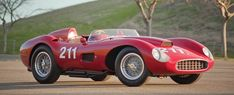 one of two 1957 Ferrari 625 TRC Spiders ever built
