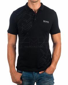 Polos Hugo Boss Negro - Paule Pro 2 | Envio Gratis Hugo Boss Outlet, Men's Waistcoat, Le Polo, Men Street, Golf Outfit, My T Shirt, Shirt Style, Shirt Designs, Mens Fashion