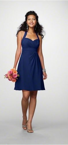 This is the bridesmaids dress! Except it's in Royal Blue.