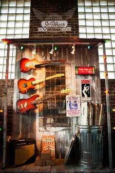 Juke Joint display in our factory showroom in Memphis