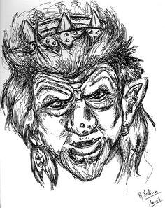 The 10th Kingdom - Troll King by blastedcrow.deviantart.com on @DeviantArt