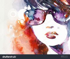 ilustracion abstracta acuarelas - Buscar con Google