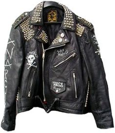 I seriously wish that I could have this! Or at least something like this. I think I'm going to have my mom & dad buy me a leather jacket!