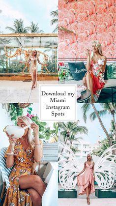 The perfect picture spots all around Miami! - Travel Miami - Ideas of Travel in Miami Miami Outfits, Florida Outfits, Vacation Outfits, Destin Florida, Florida Travel, Travel Usa, Miami Florida Vacation, Florida Keys, South Beach Miami
