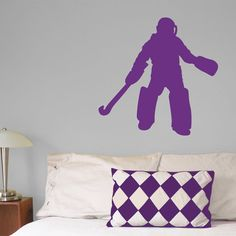 Field Hockey Goalie Wall Décor. This field hockey wall art is the perfect gift for your goalie.