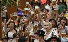 Beer flows as Germany kicks off Oktoberfest - Yahoo! News http://ow.ly/dVviW