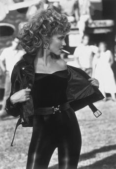 Sandy (Olivia Newton-John), Grease, 1978.