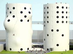Recycled Abandoned Silos in Amsterdam = Awesome Climbing Gym