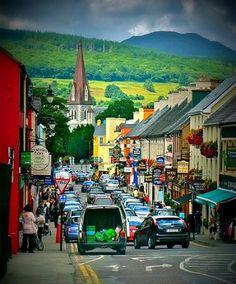 Ring of Kerry Ireland - Henry Street, Kenmare.  Foodie Heaven!