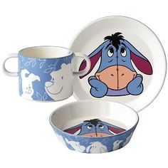 Royal Doulton Eeyore Baby Set