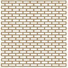 Blue Fern Studios - Chipboard - Shabby Brick Panel,$9.99