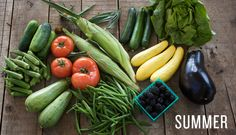 Summer veggies & fruit
