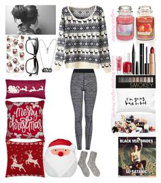 """2 Days till Christmas!!!!"" by oliviacoulanges ❤ liked on Polyvore featuring Topshop, Forever 21, Laura Ashley, John Lewis, Yankee Candle, River Island, Bobbi Brown Cosmetics, Charlotte Tilbury, Chanel and Essie"