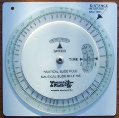 Circular Slide Rules Nautical