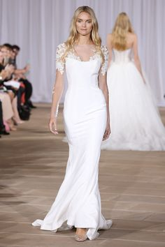 """""""Twilight"""" illusion sleeved dress by Ines Di Santo 