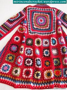 Transcendent Crochet a Solid Granny Square Ideas. Inconceivable Crochet a Solid Granny Square Ideas. Gilet Crochet, Crochet Coat, Crochet Cardigan, Love Crochet, Beautiful Crochet, Crochet Clothes, Crochet Baby, Cardigan Pattern, Vintage Crochet