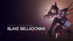 Blake Belladonna by AssassinWarrior on DeviantArt Rwby Wallpaper, Snowman Wallpaper, Rwby Blake, Violet Evergarden Anime, Rwby Characters, Blake Belladonna, Team Rwby, Rwby Anime, Trance Music