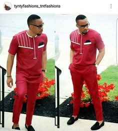 Ankara outfit for men/ african clothing for men/ ankara clothing for men/ African fashion for men. African Wear Styles For Men, African Shirts For Men, African Dresses Men, African Clothing For Men, African Attire, African Outfits, African Clothes, African Style, Nigerian Men Fashion