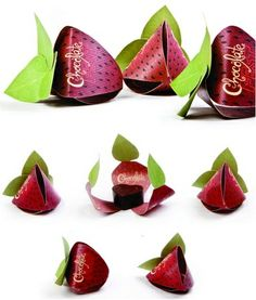 #Packaging chocolate de fresa