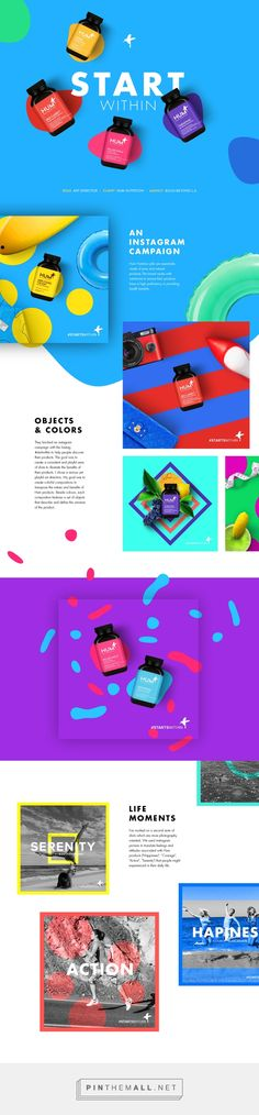 Hum - Start Within on Behance - created via http://pinthemall.net