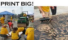 Atlanta Printmakers Studio - Print Big!