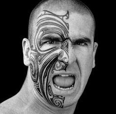 Maori Moko | TATOUAGE MAORI Le Moko - tatouage complet du visage - Tatouage V ...
