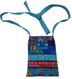 Small Purse Laurel Burch Dog Fabrics by Sieberdesigns