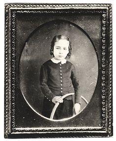 Citation: Thomas Eakins as a child, ca. 1850 / unidentified photographer. Lawrence and Barbara Fleischman papers, Archives of American Art, Smithsonian Institution.