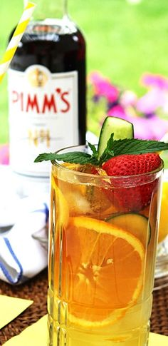 Make the perfect Pimm's Cup...