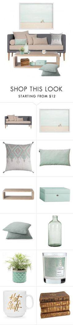 """where the sky meets the sand."" by tothineownselfbtrue ❤ liked on Polyvore featuring interior, interiors, interior design, home, home decor, interior decorating, Home Decorators Collection, LINUM, McGuire and Pottery Barn"