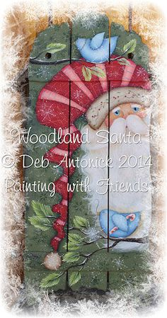 Woodland Santa by Deb Antonick, email pattern packet