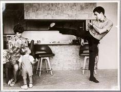 Vintage Original Bruce Lee Family