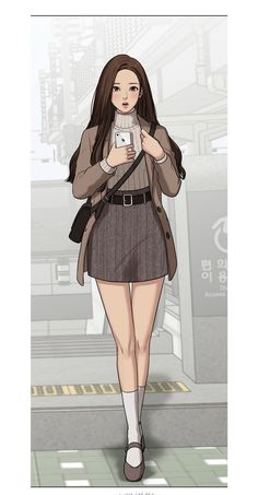 fashion from true beauty webtoon