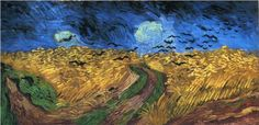 Wheatfield with Crows - Vincent van Gogh