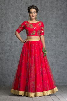 Shop Party Wear Lehenga & Indian Dresses from exclusive Party Wear Lehenga Designs at Indianroots. Browse through a wide range of Party Wear Lehenga Choli and bring home a chic yet classy affair! Indian Skirt, Indian Dresses, Indian Outfits, Indian Clothes, India Fashion, Ethnic Fashion, Women's Fashion, Indian Attire, Indian Wear