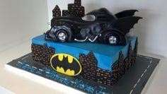 Batman car cake