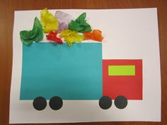 COMMUNITY HELPERS - Garbage Truck