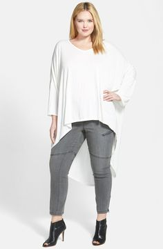 Plus Size Jersey Tunic