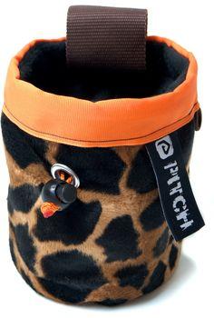 Giraffe chalk bag (pitchclimbing.com)