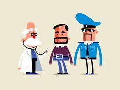 character illustration - Buscar con Google